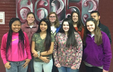 Marisol Flores (Early Childhood II), Jesus Lopez (Early Childhood II), Gia Vainisi (STEM), Emma Laney (Oral Communications), Precious Harris (Oral Communications), Chloe Cobb (Digital Media I), Jenna Blades (Concepts of Ag Science), Madison Ferguson (Concepts of Ag Science)